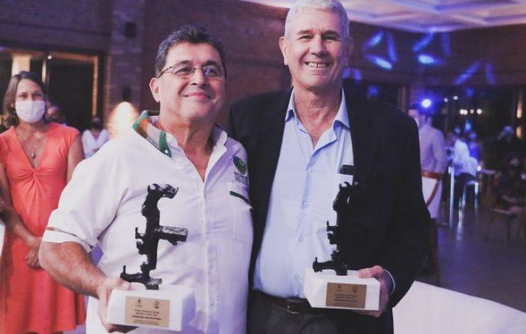 HOTEL SAN LUCAS Y EMPRESARIO LLOYD DAVIDSON GANAN PREMIOS COPÁN POR SU APORTE AL TURISMO